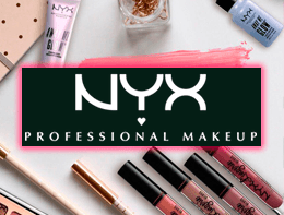 Кешбек 7.5% (замість 5%) в інтернет-магазині NYX Cosmetic
