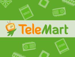 Кэшбэк Telemart до 2% (замість до 1%) | rti,tr, кэшбек, кэшбэк