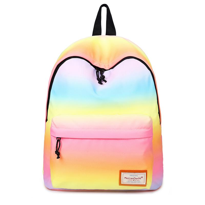 Рюкзак з градієнтом кольору