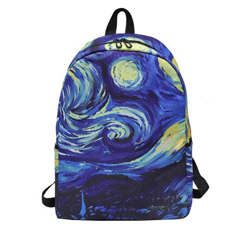 Рюкзак з принтом зоряна ніч