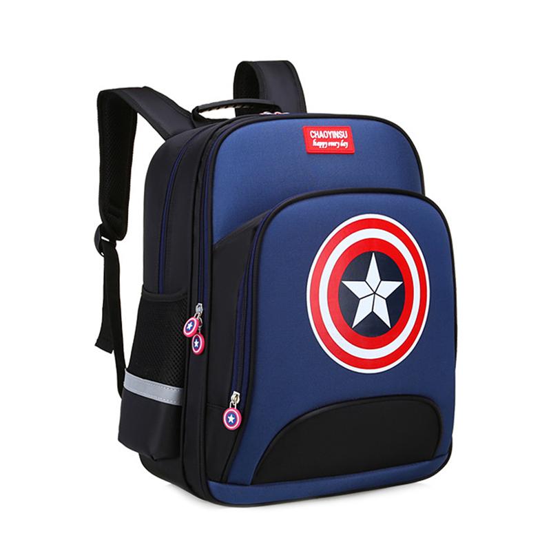 Рюкзак з принтом щита Капітан Америка