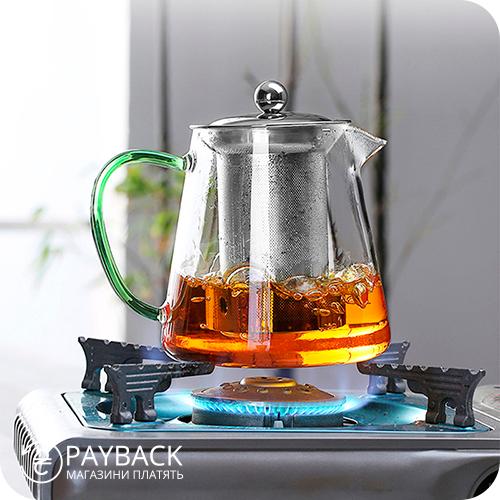 Чайник-заварник з cashback на AliExpress