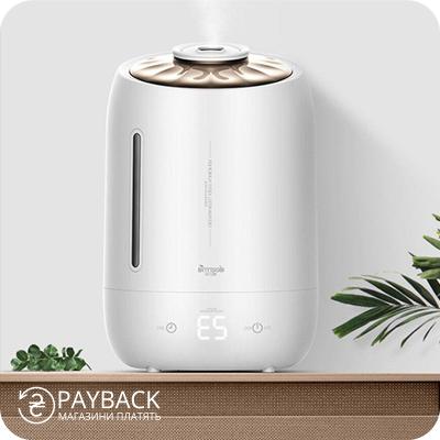 Deerma увлажнитель воздуха 5L большая емкость умный сенсорный температура для дома, спальни, офиса, Мини Арома очиститель воздуха DEM-F600