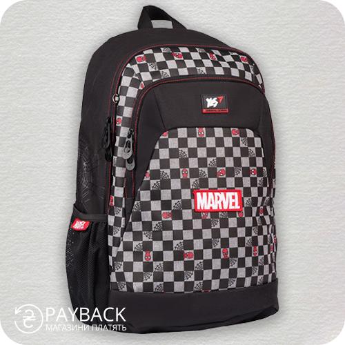 Рюкзак YES T-69 Marvel.Spiderman, чорний
