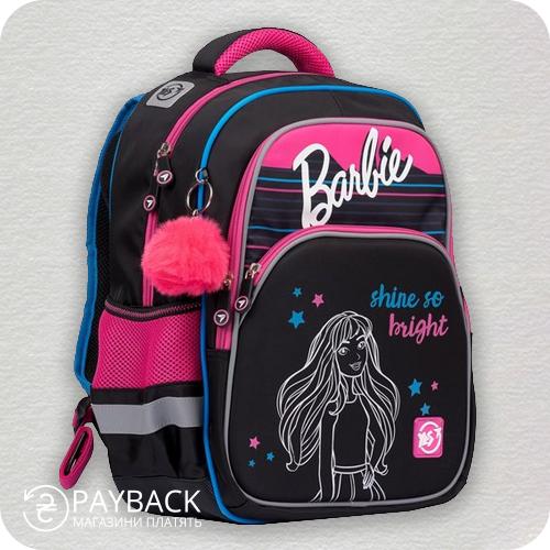 Рюкзак YES S-59 Meow, чорно-рожевий